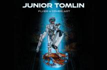 Junior Tomlin Flyer & Cover Art book cover